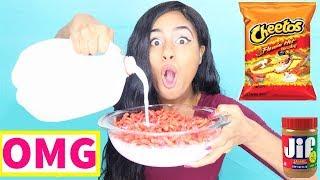 WEIRD Food Combinations People LOVE!!! EATING FUNKY & GROSS DIY FOODS