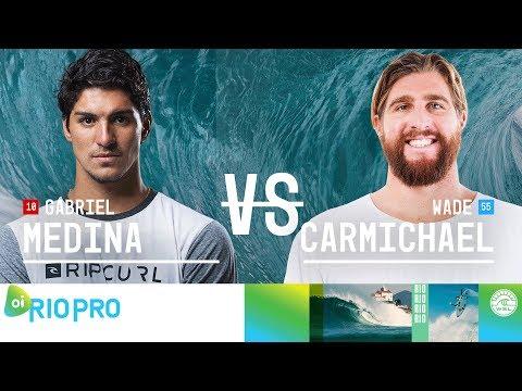 Xxx Mp4 Gabriel Medina Vs Wade Carmichael Quarterfinals Heat 3 Oi Rio Pro 2018 3gp Sex