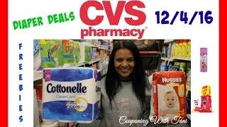 CVS 12/4/16 Diaper Deals & Cheap Cottonelle | Toni's Deals