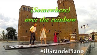 #ilGrandePiano - (Somewhere) over the rainbow, @ Mirabilia Festival 2018, Fossano