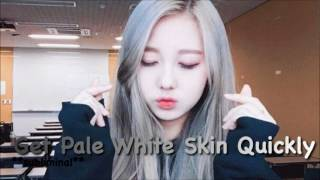 Get Pale White Skin Quickly **subliminal**
