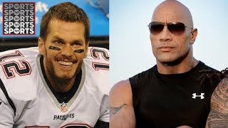 Tom Brady's Impression of The Rock is Cringeworthy