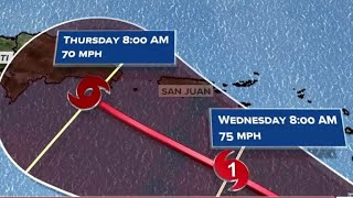 Tropical Storm Dorian on path for Caribbean and could become hurricane