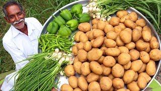 Chilli Potatoes Recipe | Honey Chilli Potato Recipe | Easy Potato Starter Recipe By Grandpa Kitchen