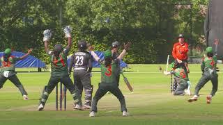 WT20Q: Fahima Khatun takes a hat-trick against the UAE!