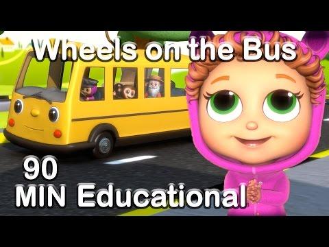 Xxx Mp4 Wheels On The Bus Educational Nursery Rhyme Compilation 3gp Sex