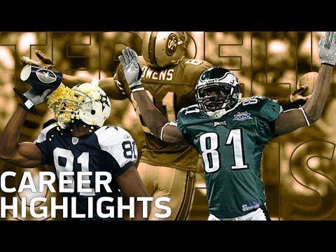 Terrell Owens T.O. FULL Career Highlights NFL Legends Highlights