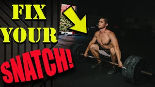 Are You Making This Snatch Mistake? (and how to fix it)