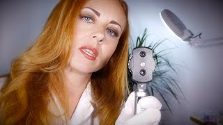 Relaxing Doctor Visit | ASMR Full Body Exam with Ear Cleaning