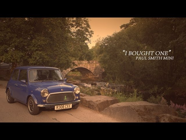 Rover Mini Paul Smith - I Bought One | Jon Quirk