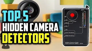 Top 5 Best Hidden Camera Detectors 2018 || Best Hidden Camera Detectors Review ||