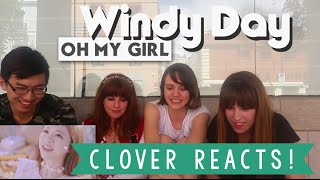 [MV REACTION Spanish] Oh My Girl ''오마이걸''  - Windy Day || CLOVER Reacts!