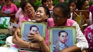 Thailand's King Bhumibol Adulyadej dies
