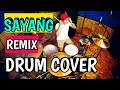 Download Via vallen - sayang - remix version drum cover