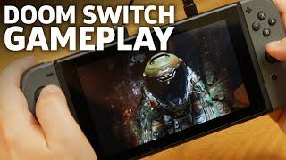DOOM On Switch Gameplay