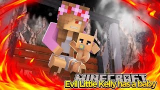 Minecraft - EVIL LITTLE KELLY HAS A BABY! w/Tiny Turtle