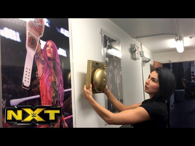 Billie Kay & Peyton Royce run into trouble trying to  find a spot to hang their Year-End Award?