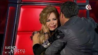 Gloria Trevi llora con canción de Alejandro Sanz