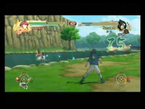 NUNS Hinata vs Sasuke