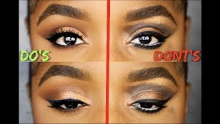 EYESHADOW DO'S AND DONT'S | Ellarie