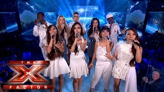 The Final 5 perform Michael Jackson's Earth Song   Week 5 Results  The X Factor 2015