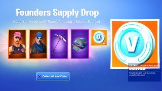 A New FOUNDERS PACK in Fortnite..