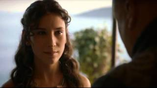 Game of Thrones S03E10 - Lord Varys and Shae have a chat