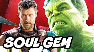 Thor Ragnarok Infinity Gems - Chris Hemsworth Teaser Explained