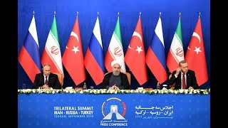 With millions of lives in the balance, Iran, Russia and Turkey discuss Syria's fate