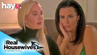 Kyle Keeps Bringing Up Lisa Rinna's Halloween Costume!   Season 9   Real Housewives Of Beverly Hills