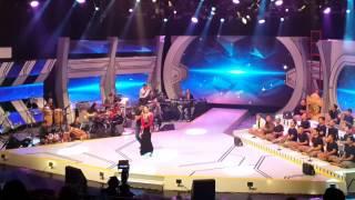 AKON Versi Kelantan Dok Mano (live) rtm-Man Khan feat Rosalinda sesi latihan