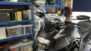 Ducati Diavel  Back after a short break  Part 2