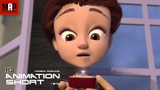 "CGI 3D Animated Short Film ""LOVE ON THE BALCONY"" Cute Romantic Comedy by Ringling College"