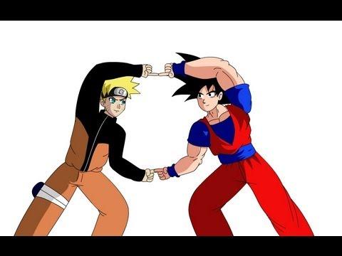 Fusion Project: Goku and Naruto (Version 2)