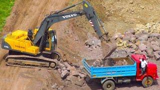 Construction Trucks for Toddlers  - Trucks & Equipment Educational Video