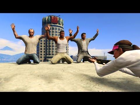 GTA 5 FAIL,WINS Compilation (GTA V Amanda love Michael Funny Moments Fail Thug life)