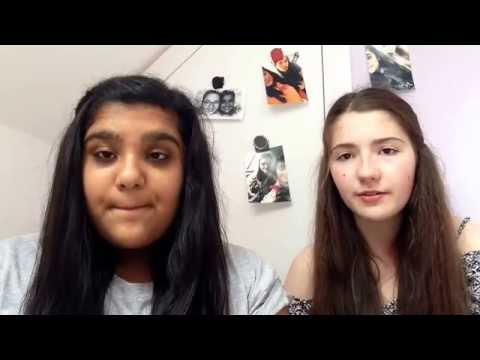 Titanium-David Guetta Ft.Sia|Cover By Ellie And Meera