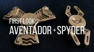 First Look: AVENTADOR + SPYDER - STEALTH SPINNERS