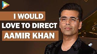 "Karan Johar: ""I Would LOVE To Direct Aamir Khan, Sridevi, Ranveer, Deepika Padukone"" | Rapid Fire"