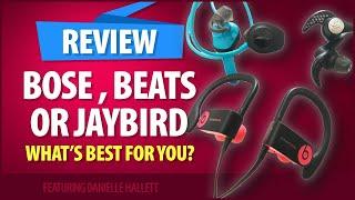 Powerbeats3 vs Jaybird X3 vs Bose SoundSport Wireless - One Year Test