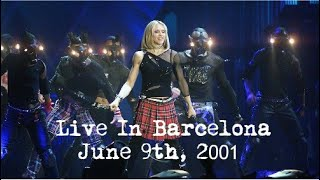 Madonna - The Drowned World Tour - Live In Barcelona - June 9, 2001