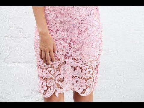 Кружева своими руками юбку