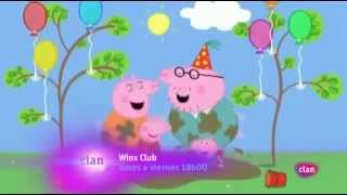 El cumpleaños de papá pig español HD