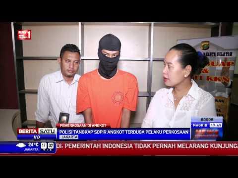 Polisi Bekuk Sopir Angkot Pelaku Perkosaan