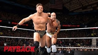 Cesaro vs. The Miz – Intercontinental Titel Match: WWE Payback 2016 auf WWE Network