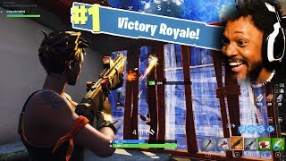 FIRST TIME EVER PLAYING FORTNITE   Fortnite: Battle Royale (n00b)