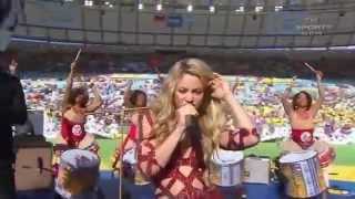 Shakira - La La La Live (Brazil 2014) ft. Carlinhos Brown Closing Ceremony FIFA World Cup 2014