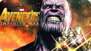 THE AVENGERS 3 INFINITY WAR Movie Preview 4: Thanos Black Order Analysis (2018)