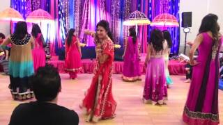 Mehreens Wedding Dances-Girls Side