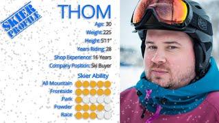 Thom's Review-Atomic Vantage 100 CTI Skis 2017-Skis.com
